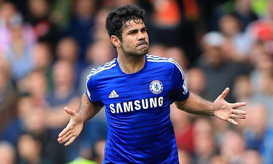 Diego Costa                                      Kulübü: Chelsea     Sezon: 2014-2015Maç: 37Gol: 20