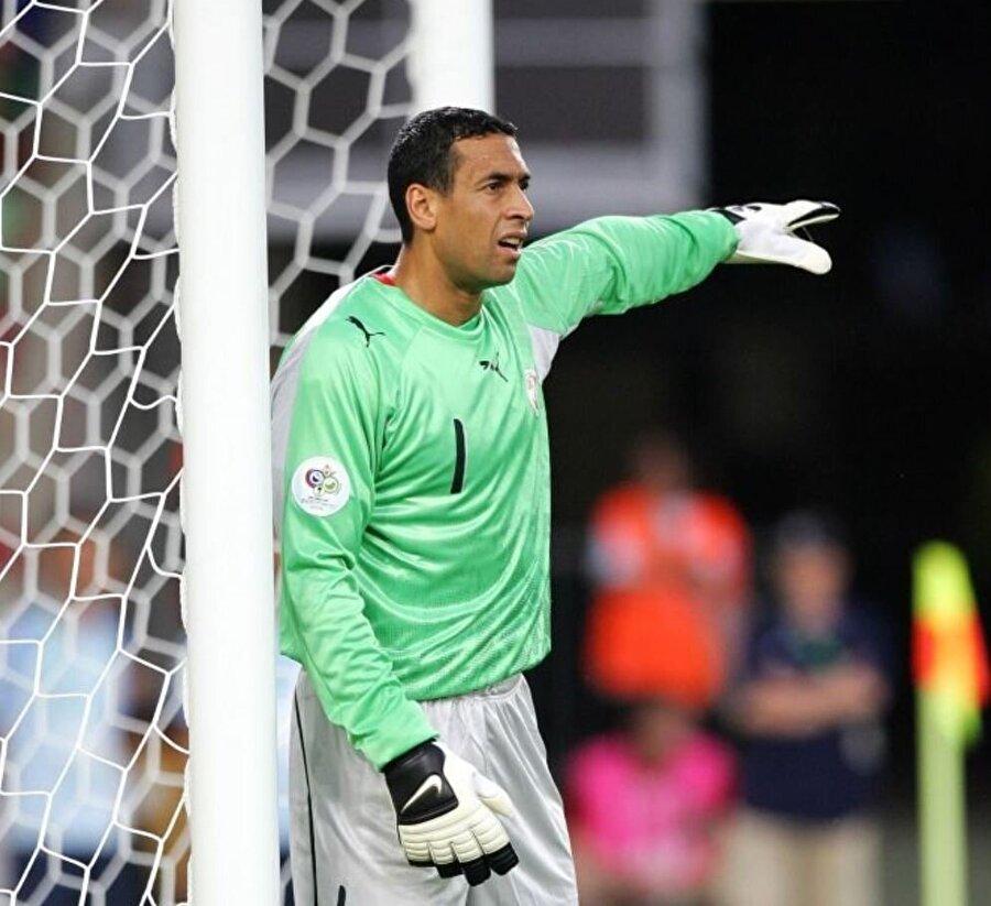 Ali Boumnijel                                       Tunuslu kaleci Ali Boumnijel, 2006 Dünya Kupası'nda mücadele ederken 40 yaşındaydı.