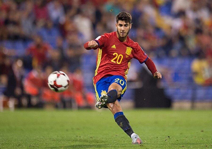 Marco Asensio / İspanya                                      Doğum Tarihi: 21 Ocak 1996Mevki: Sol kanatKulübü: Real MadridBonservis: 75 milyon Euro Sözleşme Bitiş Tarihi: 30.06.2023