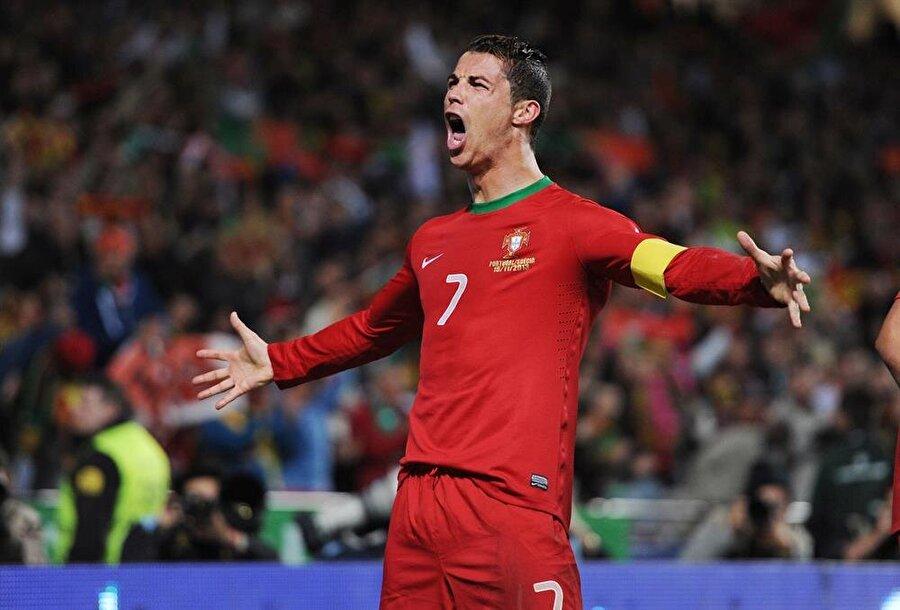 Cristiano Ronaldo / Portekiz                                      Doğum Tarihi: 5 Şubat 1985Mevki: SantraforKulübü: Real MadridBonservis: 100 milyon Euro Sözleşme Bitiş Tarihi: 30.06.2021