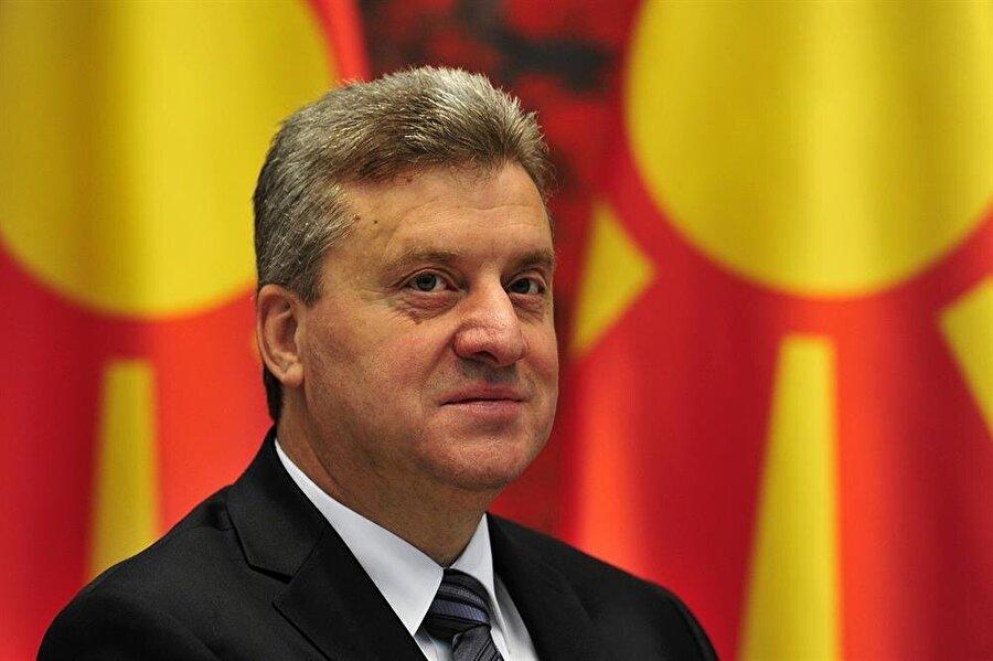 Makedonya Cumhurbaşkanı Gjorge İvanov