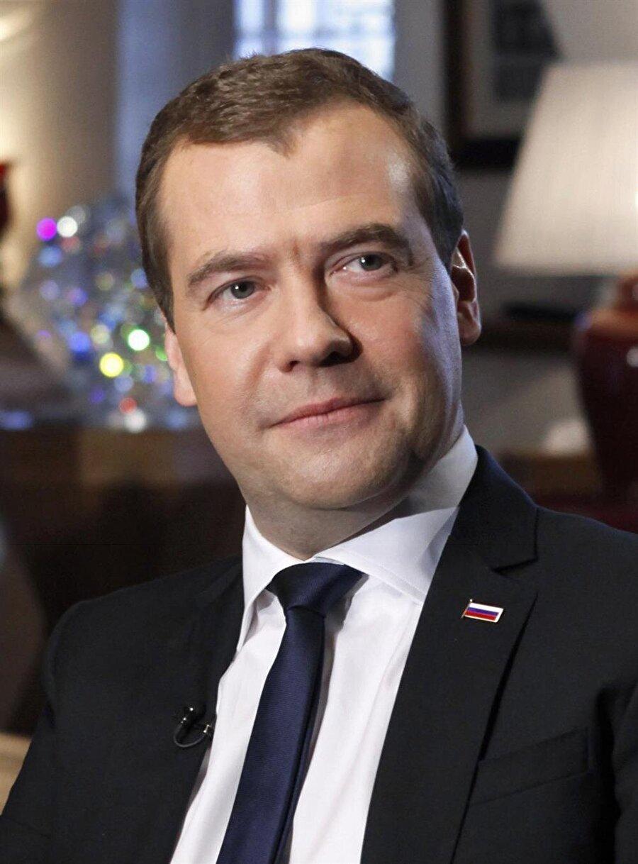 Rusya Başbakanı Dmitri Medvedev