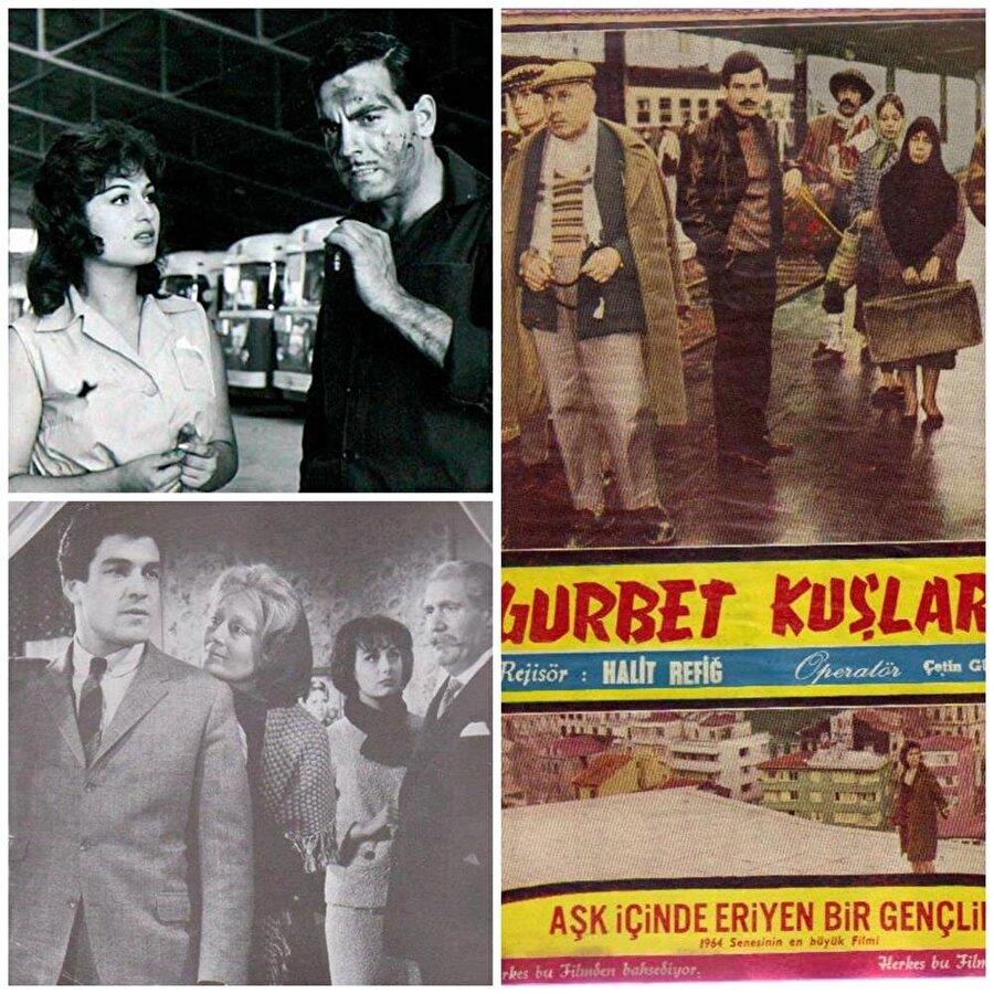Antalya Altın Portakal                                      Festival, ilk kez 1963 yılında düzenlendi. En İyi Kadın Oyuncu ödülünü, Acı Hayat filmiyle Türkan Şoray alırken, En İyi Erkek Oyuncu ödülü ise Ağaçlar Ayakta Ölür ile İzzet Günay'ın oldu. En İyi Film ödülü ise Halit Refiğ'in Gurbet Kuşları adlı eseri oldu. Bu film aynı zamanda Cüneyt Arkın'ın da ilk filmiydi.