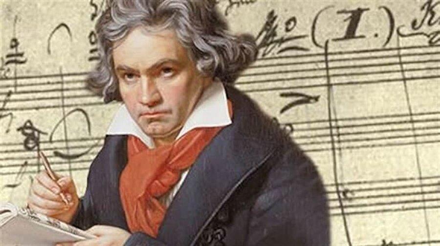 Beethoven Kadın frengi hastası, 8 çocuğu var. Bu çocukların üçü sağır, ikisi kör, birisi de zeka engelli. Kadın hamile ve doğan çocuk BEETHOVEN