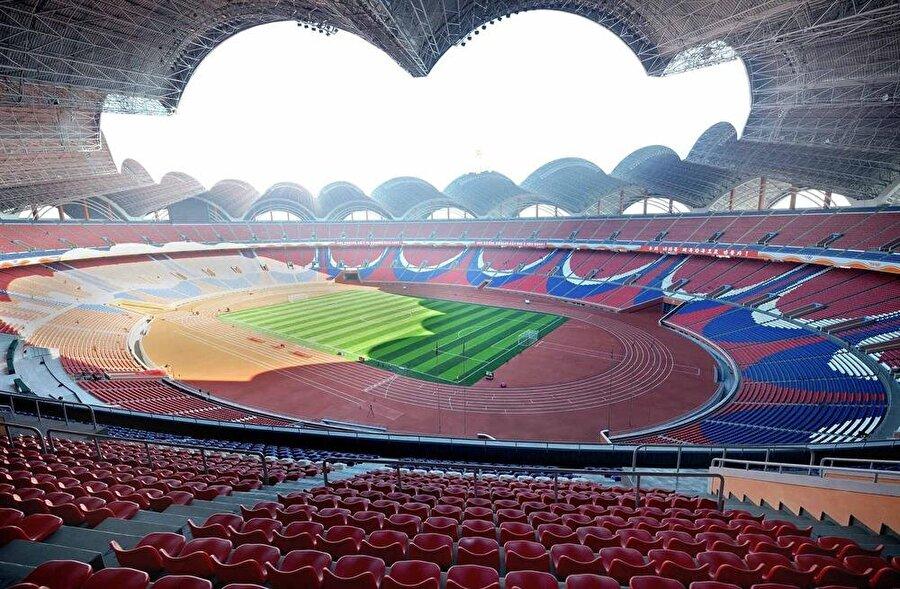 Rungrado May Day Stadyumu                                      Lokasyon: Pyongyang / Kuzey KoreKapasite: 150,000