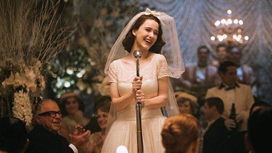 Komedi dalında 'En İyi Dizi'                                      Komedi dalında 'En İyi Dizi', The Marvelous Mrs Maisel oldu.