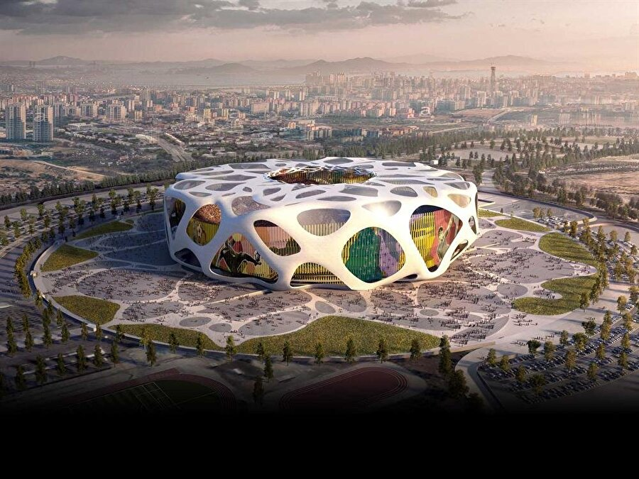 Atatürk Olimpiyat Stadı                                                                           Kapasite: 85.71Oynanması planlanan maç sayısı: 7