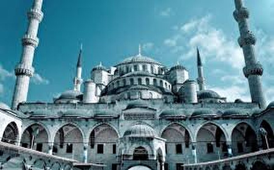 Mimar Sinan'ın ölmez eseri Süleymaniye Camii.