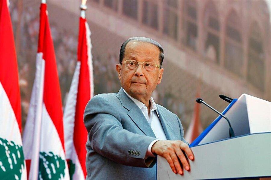 """""""Lübnan her türlü karşılığa hazır"""" Lübnan Cumhurbaşkanlığından yapılan yazılı açıklamaya göre, Mişel Avn, resmi temaslarda bulunmak üzere ülkesinde bulunan Avusturya Dışişleri Bakanı Karin Kneissl'i başkent Beyrut'un doğusundaki Baabda Cumhurbaşkanlığı Sarayı'nda kabul etti. Avn, görüşme sırasında İsrail Başbakanı Binyamin Netanyahu'nun Hizbullah'ın Beyrut'ta füze tesisleri kurması ile ilgili öne sürdüğü iddialar üzerine Lübnan'ın egemenliğine yönelik her türlü saldırıya karşılık verileceğini söyledi."""