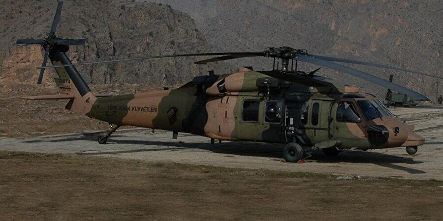 Sikorsky S-70A-24A Black Hawk                                                                                                                Sikorsky S-70A-24A Black Hawk, Sikorsky firması tarafından üretilen askeri taşıma ve saldırı helikopteri 2002 yılında Jandarma Kuvvetlerine teslim edilmiştir.