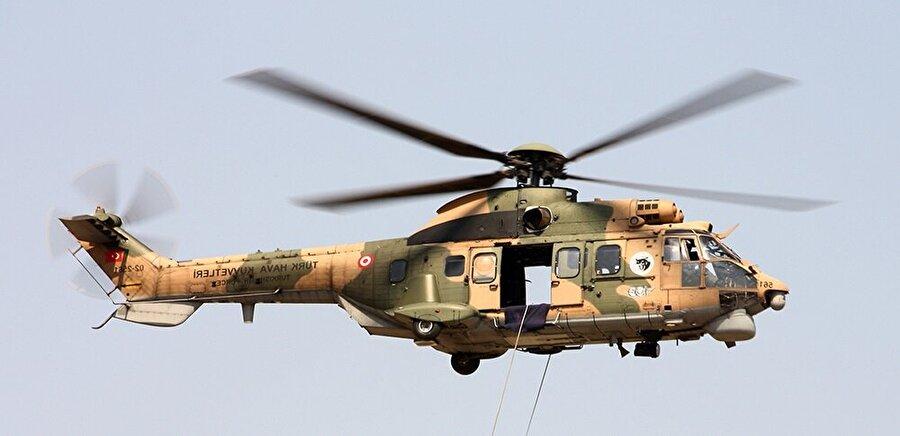 AS 532UL Cougar MK.I - TAI & Eurocopter                                                                                                                TAI 1999-2003 yılları arasında 28 adet AS 532UL Cougar MK.I genel maksat helikopterinin üretimini Eurocopter lisansıyla gerçekleştirmiştir.