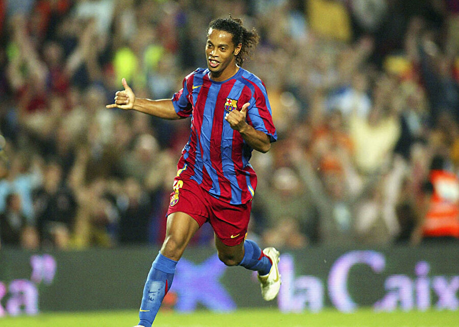 Sol açık: Ronaldinho