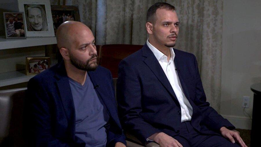 """Cemal Kaşıkçı'nın oğulları: """"Kral'a güveniyoruz"""" Cemal Kaşıkçı'nın oğulları Salah (35) ve Abdullah (33), CNN International televizyonunun canlı yayınına konuk oldu. Babalarının katlinden sonra ilk kez röportaj veren Kaşıkçı kardeşler, Suudi Arabistan Kralı Selman bin Abdulaziz'in katillerin adalete teslim edileceğine dair sözüne güvendiklerini açıkladı. Kral'la bizzat görüşen Salah Kaşıkçı, """"Bana, bu olayın sorumlularının mutlaka bulunacağını ve cezalandırılacağını söyledi. Kral'ın sözüne güveniyorum"""" dedi."""