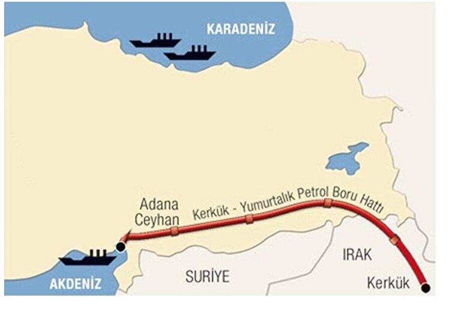 """Irak-Türkiye Ham Petrol Boru Hattı Irak-Türkiye Ham Petrol Boru Hattı, Türkiye Cumhuriyeti ile Irak Cumhuriyeti Hükümetleri arasında 27 Ağustos 1973 tarihinde imzalanan Ham Petrol Boru Hattı Anlaşması çerçevesinde Irak'ın Kerkük ve diğer üretim sahalarında üretilen ham petrolün Ceyhan Deniz Terminaline ulaştırılması amacıyla inşa edilmiştir.   40"""" çapında, 986 km uzunluğundaki ilk hat 1976 yılında işletmeye alınmış ve ilk tanker yüklemesi 25 Mayıs 1977 tarihinde gerçekleştirilmiştir. Birinci boru hattına paralel olan ve inşaat çalışmaları 1985 yılında başlayan ikinci boru hattı 1987 yılında tamamlanmıştır. 46"""" lik bu boru hattı ile yıllık taşıma kapasitesi 70,9 milyon tona yükseltilmiştir. 19 Eylül 2010 tarihinde Ülkemiz ile Irak arasında Kerkük-Yumurtalık Ham Petrol Boru Hattı Anlaşması'nın ve ilgili protokollerinin yenilenmesine ve 15 yıl boyunca uzatılmasına yönelik değişiklik anlaşması imzalanmıştır. Boru Hattının Türkiye kısmının sahibi ve aynı zamanda boru hattının Türkiye kısmının işletimi yapan kurum Boru Hatları İle Petrol Taşıma Anonim Şirketi (BOTAŞ)'tır."""