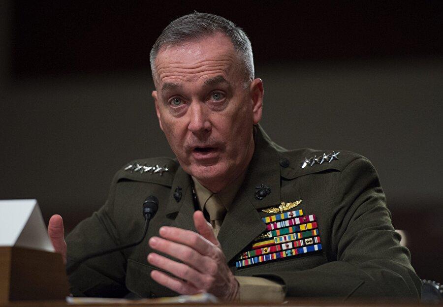 """ABD: Taliban kaybetmiyor ABD Genelkurmay Başkanı Dunford, Kanada'da düzenlenen Halifax Güvenlik Forumu'nda yaptığı konuşmada, Taliban'ın """"kaybetmediğini"""" ve Afganistan'daki savaşı sona erdirmek için """"askeri bir çözüm"""" olmadığını söyledi. Taliban ile ilgili açıklamalarda bulunan Dunford, """"Şu an için kaybetmiyorlar. Bence bunu söylemek adil olur."""" dedi."""