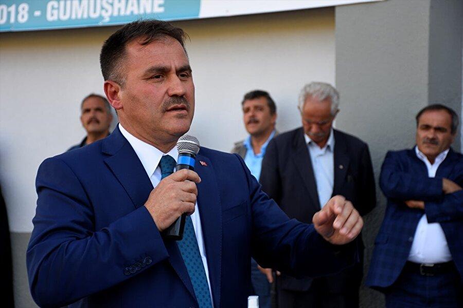Gümüşhane Belediye Başkanı Ercan Çimen