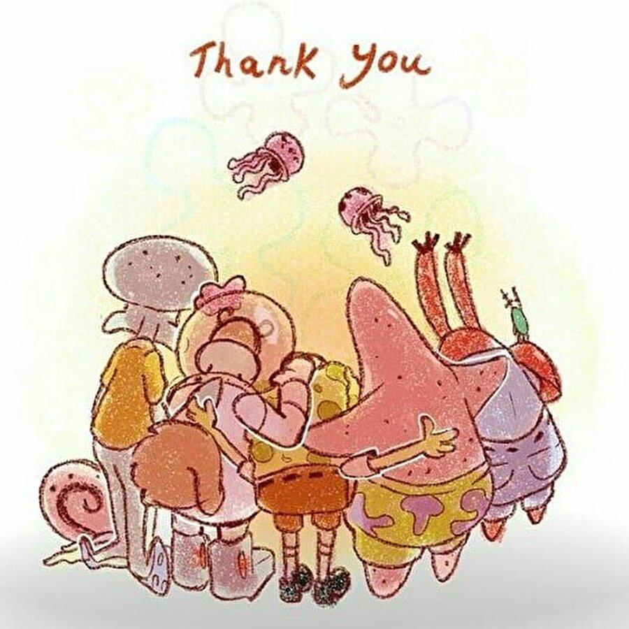 Her şey için teşekkürler...