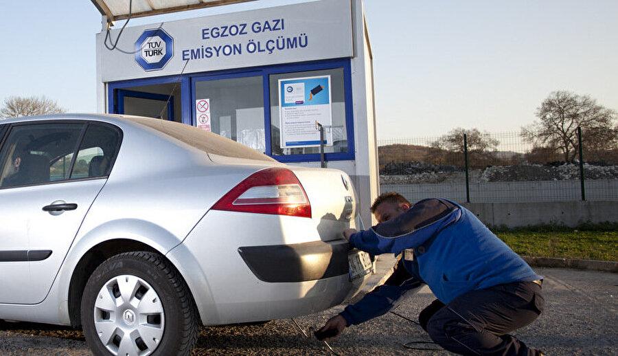 Bin 250 lira ceza                                                                           Egzoz gazı emisyon ölçümü yaptırmayan motorlu taşıt sahiplerine bin 250 lira ceza verilecek. Aynı araç, yönetmeliklerle belirlenen standartlara aykırı emisyona neden oluyorsa ceza 2 bin 500 liraya çıkacak.