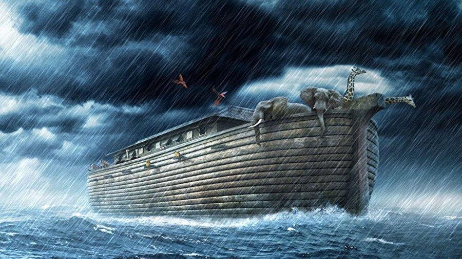 Huibers gemi yapma fikrine, 1993 yılında Nuh'un öyküsünü çocuklarına okurken kapıldı. İlk yaptığı gemi, 70 metre uzunluğunda ve 10 metre genişliğindeydi.