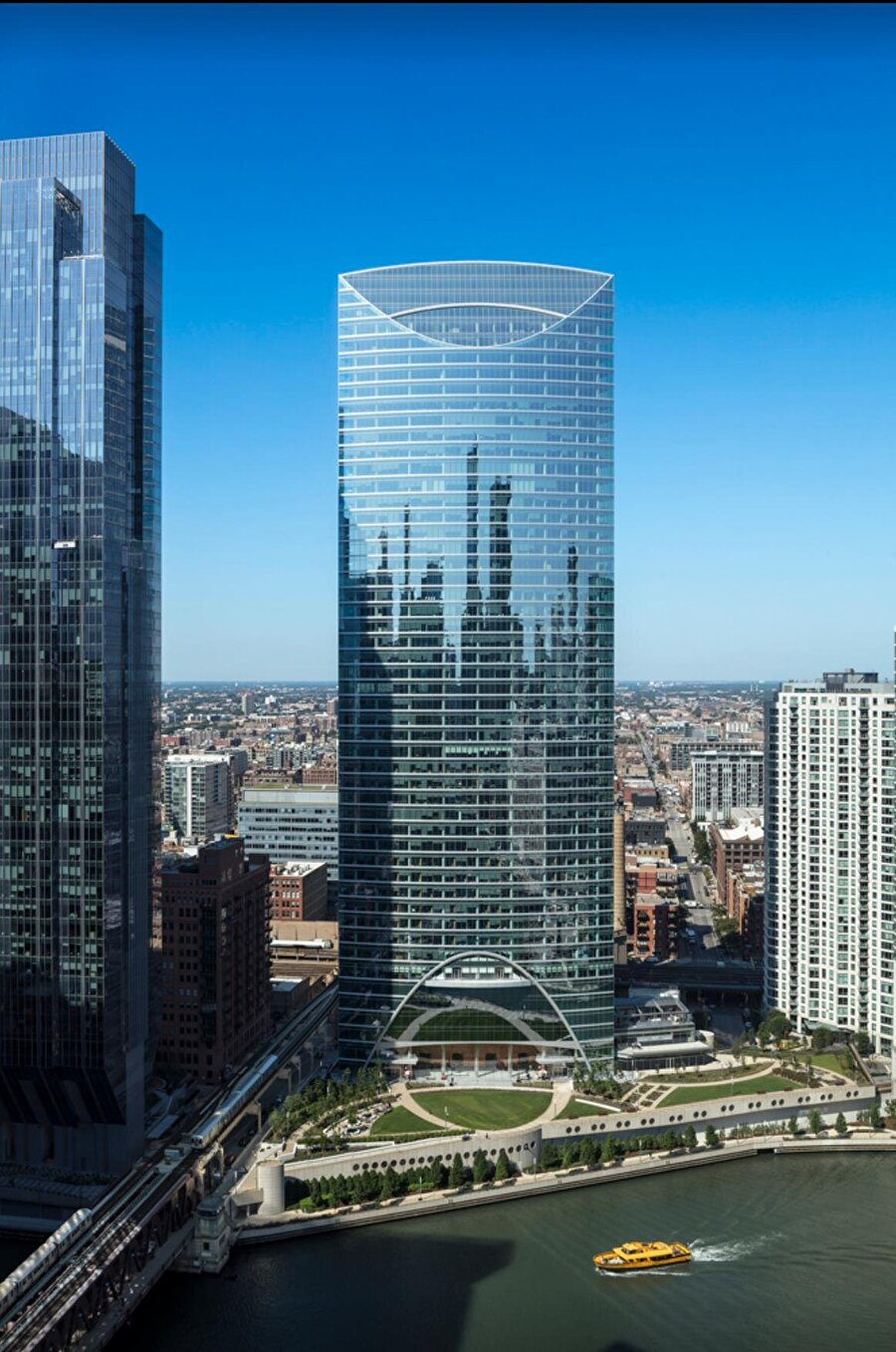 7. River Point / Pickar Chilton Mimarlık                                      Lokasyon: ChicagoUzunluj: 222m