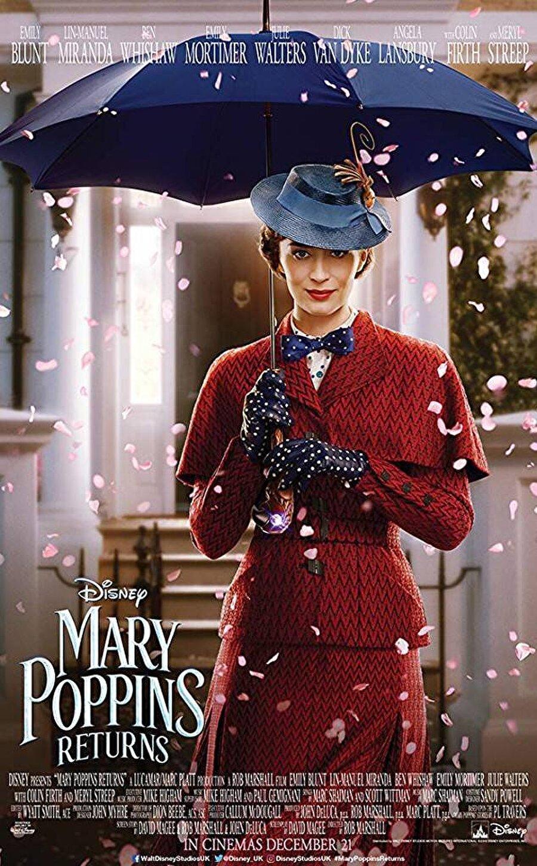 """9. Mary Poppins: Sihirli Dadı                                                                           Altın Küre ödülllü İngiliz aktris Emily Blunt'ın başrolünde yer aldığı """"Mary Poppins: Sihirli Dadı"""", klasikleşmiş müzikal Mary Poppins'in dünyasında yeni bir hikayeyi beyaz perdeye taşıyor. Emily Blunt'a Meryl Streep, Lin-Manuel Miranda, Colin Firth, Emily Mortimer, Ben Whishaw ve Julie Walters'ın eşlik ettiği fantastik müzikalin yönetmenliğini Rob Marshall üstlendi."""