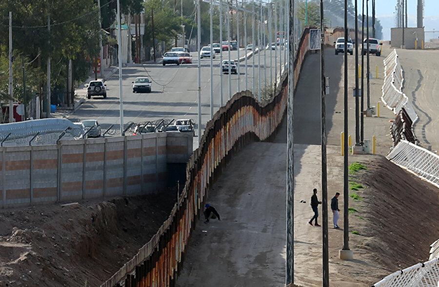 Meksika sınırına duvar ve göç