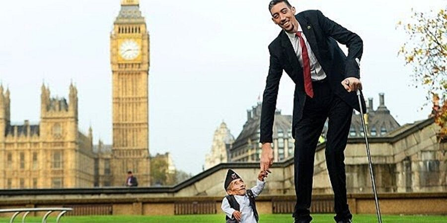 Dünyanın 2.51 cm boyuyla en uzun unvanını alan bizim ülkemizden Sultan Kösen!