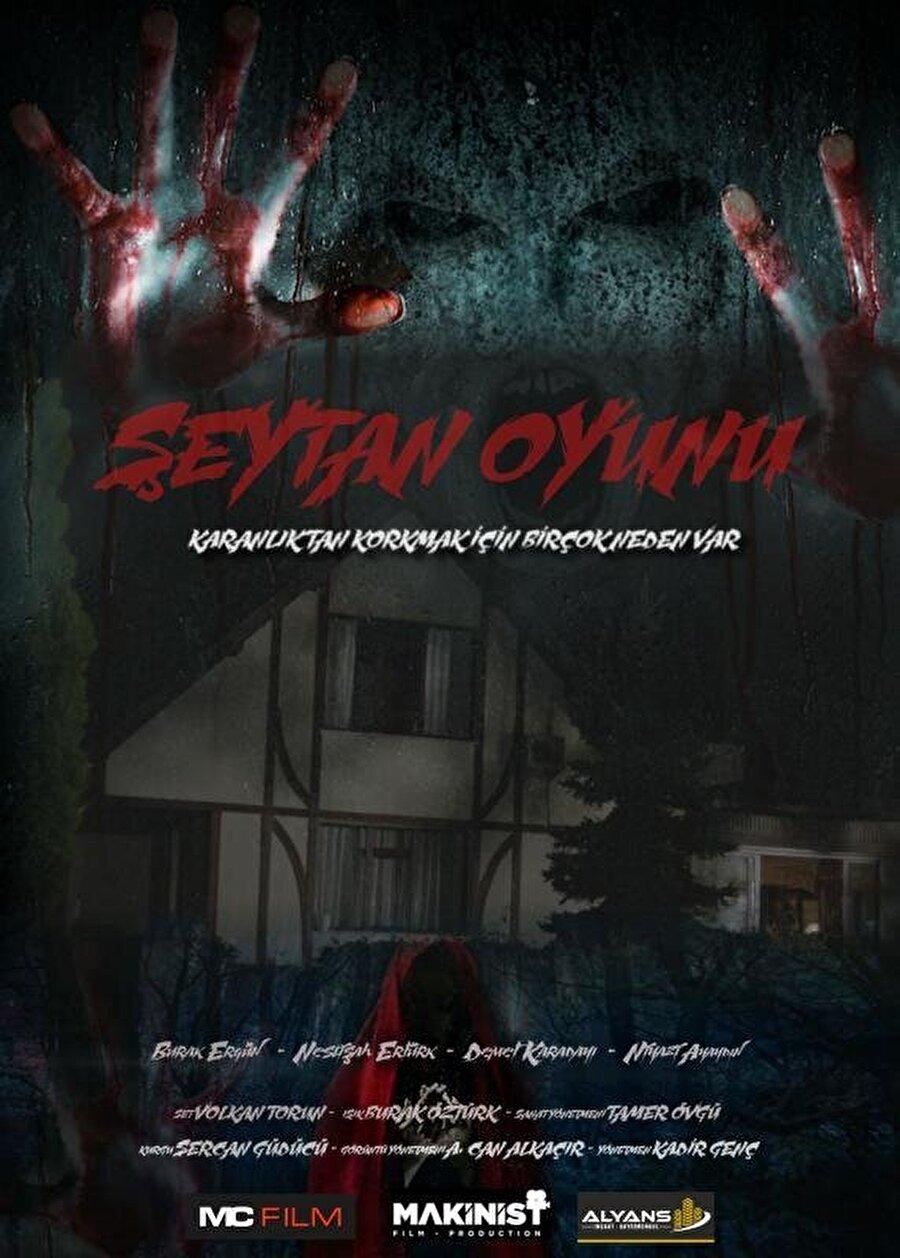 """8. Şeytan Oyunu Kadir Genç'in yönettiği haftanın yerli korku filmi """"Şeytan Oyunu""""nda, Burak Ergün, Neslişah Ertürk, Demet Karadayı ve Niyazi Ayaydın rol aldı."""