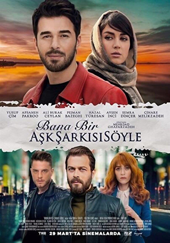 """7. Bana Bir Aşk Şarkısı Söyle Mehrdad Ghaffarzadeh'in yönettiği """"Bana Bir Aşk Şarkısı Söyle"""", en yakın arkadaşı tarafından düzenlenen bir planla hayatı bambaşka bir yola giren bir adamı odağına alıyor. Dram türündeki filmde Yusuf Çim, Afsaneh Pakroo, Ali Burak Ceylan, Hazal Türesan, Ayşen İnci, Semra Dinçer, Alihan Türkdemir ve Pejman Bazeghi rol alıyor."""
