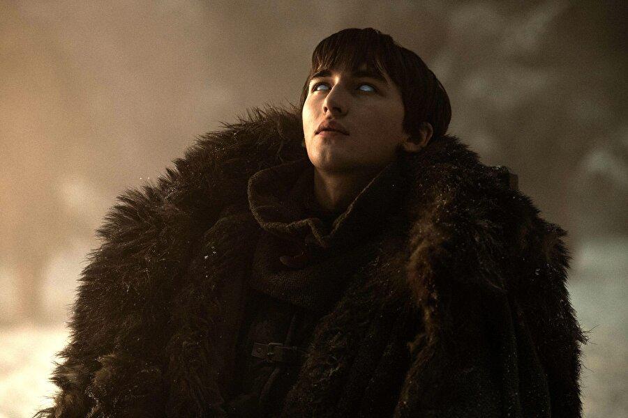 1. Demir Taht'a Bran Stark oturacak 