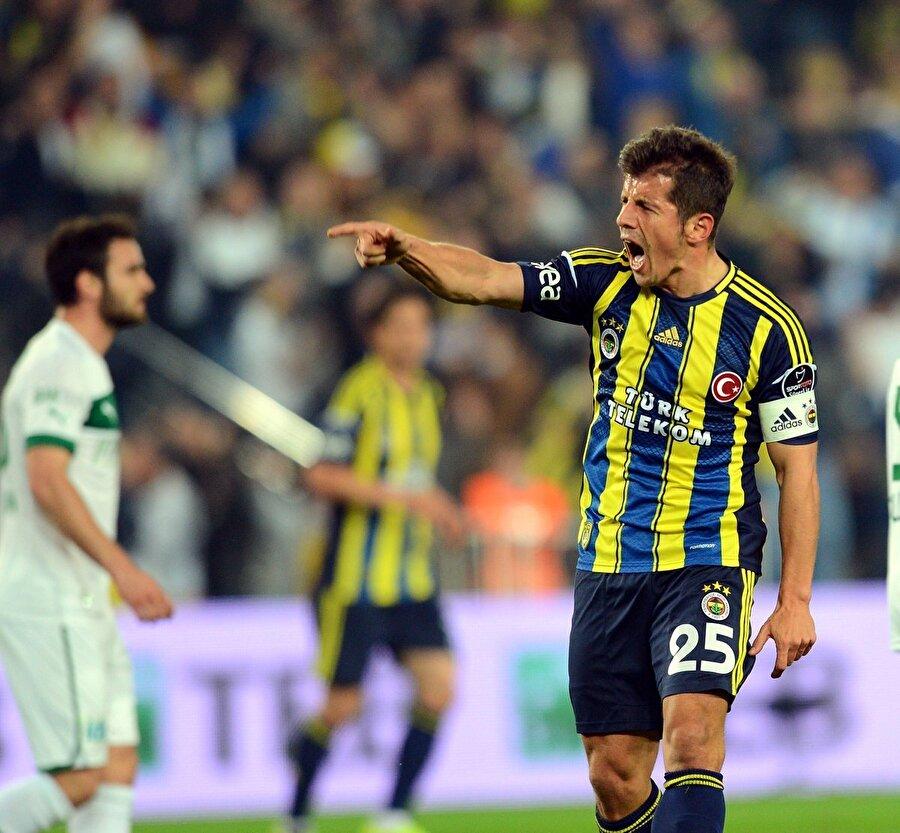 2012-2013 sezonunun ilk devresini Atletico Madrid takımında geçiren Emre ilk devre sonunda €350.000 karşılığında eski kulübü Fenerbahçe ile yeniden anlaştı ve 2,5 yıllık sözleşme imzaladı.