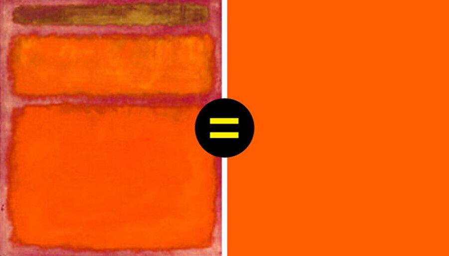 Orange, Red, Yellow – Mark Rothko / 1961