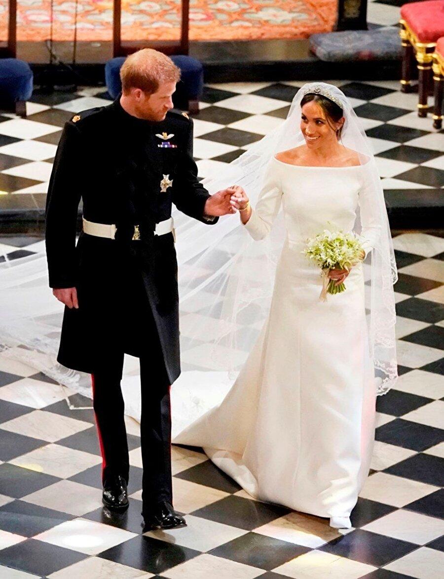 İngiliz kraliyet tahtının varisi Prens Harry (33) ile ABD'li oyuncu Meghan Markle (36) 19 Mayıs 2018'de evlendi. Kraliçe 2. Elizabeth Prens Harry'yi Sussex Dükü, Markle'ı da Sussex Düşesi ilan etti.