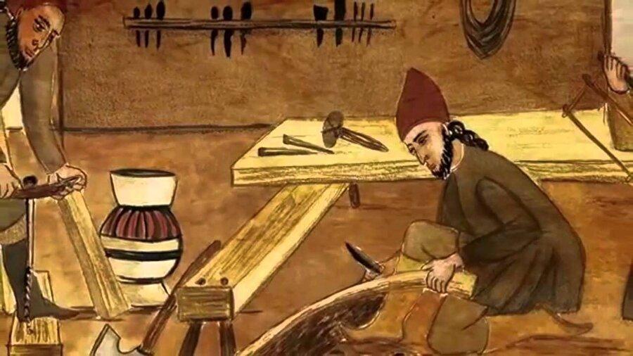 Cezeri, en eski tarihli nüshasına göre 1206 yılında veya daha öncesinde tamamladığı kitabında su saatleri, mum saatleri, ziyafetlerde kullanılan kaplar ve ibrikler, el yıkama ve abdest alma aparatları, kan almada kullanılan ölçme aletleri, otomatik müzik düzenekleri, çeşitli robotlar, zamanın tarım devriminde çok etkili olan su terfi araçları, su pompalarını çalıştıran makineler, fıskiyeler, sürekli kaval sesi çıkaran tertibatlar ve başka çeşitli aletler ile metal döküm tekniğinden bahsetmektedir.