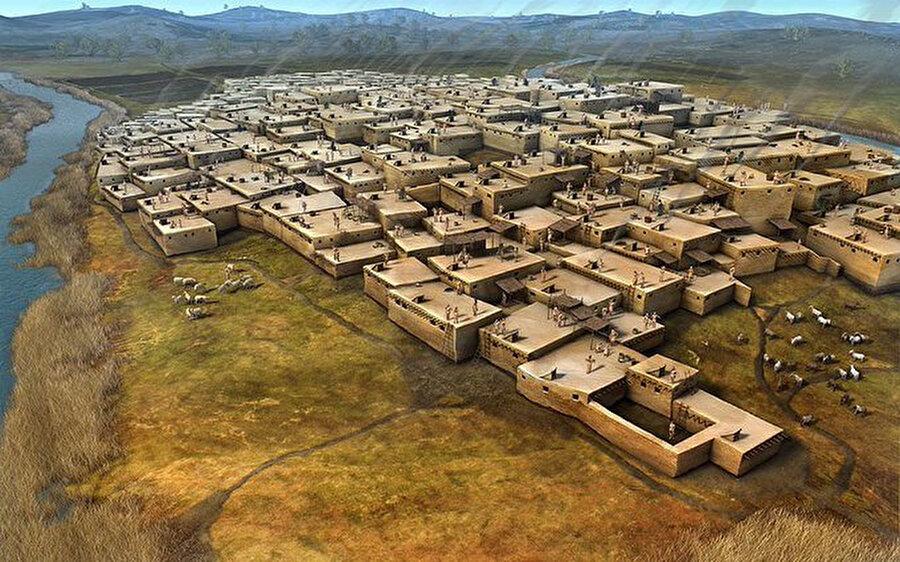 Çatalhöyük / 9 bin yıl önce                                                                                                                                                                                          Konya'nın Çumra ilçesinde yer alan Çatalhöyük, 2012 yılında UNESCO'nun Kültür Mirasları Listesi'ne girdi. Çatalhöyük ismini meydana getiren höyükler, Doğu ve Batı olmak üzere ikiye ayrılıyor. Doğu höyük 18 Neolitik yerleşim katmanından oluşuyor.Batı höyüğün ise M.Ö 6 bin 200 ve 5 bin 200 yılları arasında tarihlenen Kalkolitik Döneme ait olduğu biliniyor.