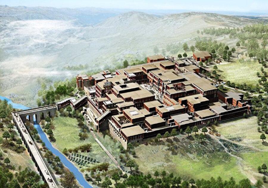 Avrupanın en eski şehri olarak bilinen Knossos / 4 bin yıl öncesi (Yunanistan)                                                                                                                                                                                          Antik Yunan'ın eski medeniyeti ve en eski şehri olarak biliniyor. Tarihi geçmişi ise M.Ö 7 bin yılına kadar uzanıyor. Knossos Sarayı, İngiliz Arkeolog Sir Arthur Evans tarafından 1900'lerin başında yapılan kazılarda ortaya çıkarıldı.