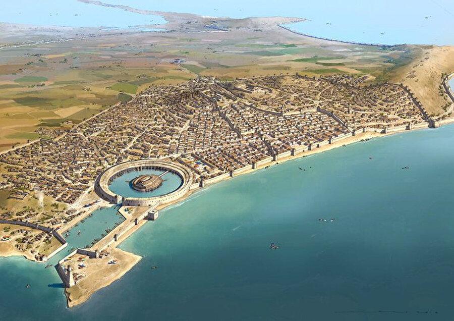 Kartaca (yeni şehir), milattan önce / 8. yüzyıl (Tunus)                                                                                                                                                                                          Kartaca, Kuzey Afrika'da, günümüzdeki Tunus yakınlarında Fenikelilerin kurduğu Eskiçağ kenti olarak biliniyor.