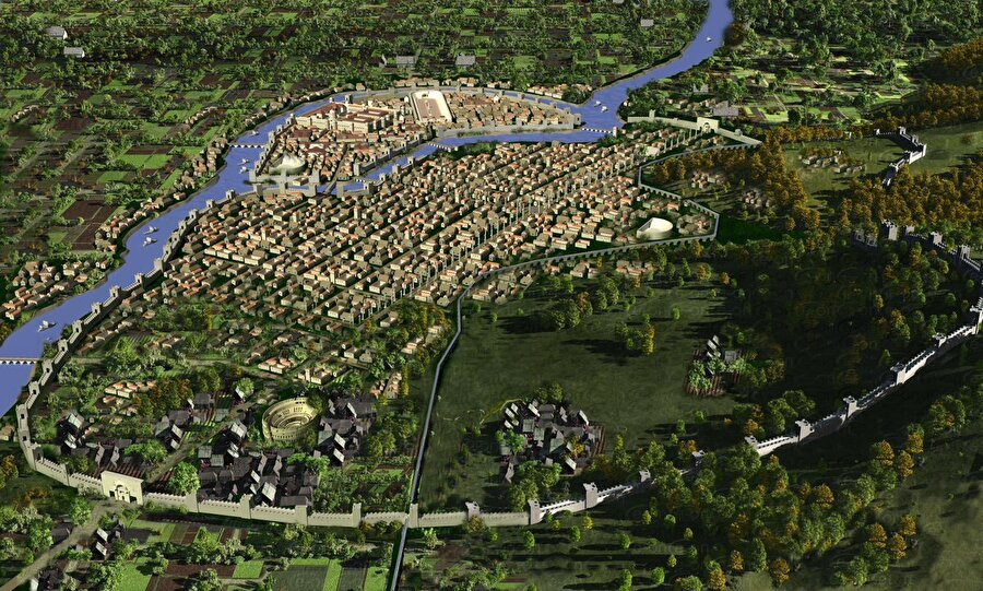 Antakya antik kenti, MÖ / 4. yüzyıl                                                                                                                                                                                          4000 yıllık bir geçmişe sahip olan ve dünyada ilk kurulan şehirdir. M.Ö.64 yılında Roma hakimiyetine geçene dek Antakya, Seleucus Krallığı'nın başkenti olmuştur.