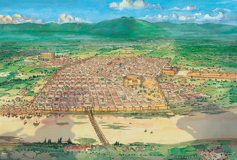 Corduba (modern Córdoba), İspanya / Milattan önce                                                                                                                                                                                          İspanya'nın Endülüs Özerk Topluluğu Bölgesi'nde bulunan şehir, Romalılar tarafından kuruldu. 8.yüzyılda ise Endülüs Emevilerince ele geçirildi ve uzun yıllar Müslüman Arapların egemenliğinde kaldı.