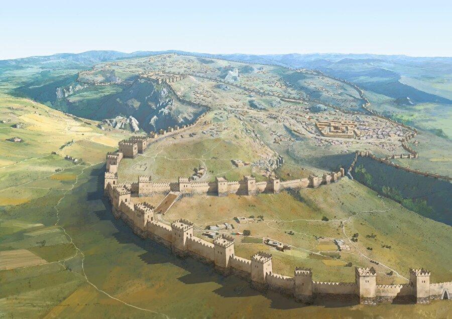 Hititlerin başkenti Hattuşaş / Milattan önce                                                                                                                                                                                          Hitit İmaparatorluğu'nun başkenti olarak kullanıldı.  Anadolu'nun en eski uygarlığına ev sahipliği yaptı. 1986 yılında UNESCO Dünya Mirası Listesi'ne alındı.