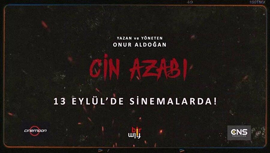 """Cin Azabı                                      Onur Aldoğan'ın yönetmenliğini yaptığı """"Cin Azabı"""", kocasının işinden ötürü hamileliğinin son safhasında eşinin annesiyle birlikte tenha bir köyde yalnız başına kalan bir kadının cinlerle imtihanını anlatıyor.Korku türündeki filmde Aydan Akboğa, Yalın Cengiz, Nalan Olcayalp, Sinan Taşkan ve Rıfat Kanpara gibi isimler rol aldı."""