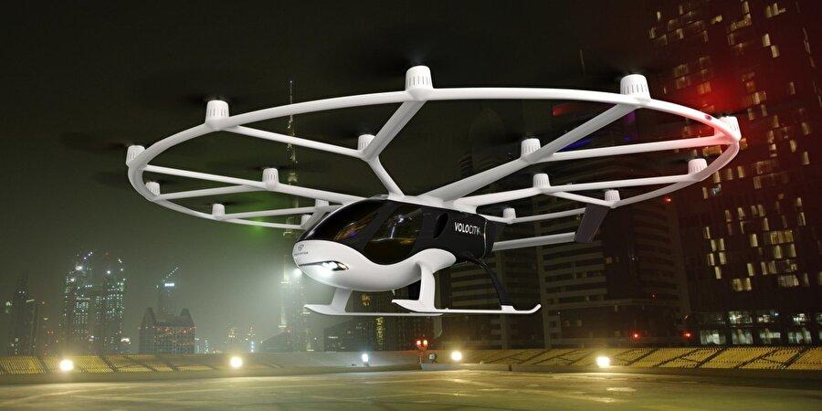 VoloCity, Volocopter'in ticari olarak lisanslı ilk aracı olarak tasarlandı.