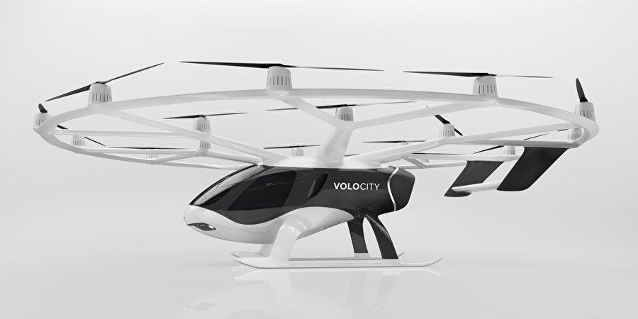 VoloCity, 2 kişi kapasitesine ek olarak bir de ufak bavul alabiliyor.