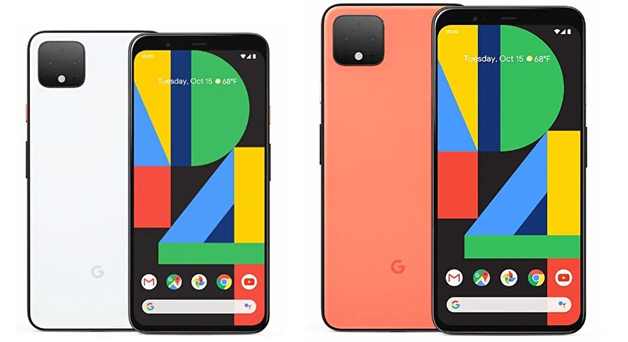Pixel 4 ve Pixel 4 XL