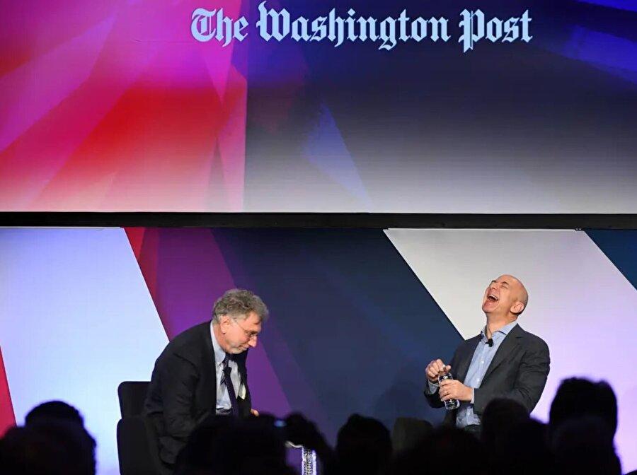 Bezos, 2013'te Washington Post'u 250 milyon dolara satın aldı.