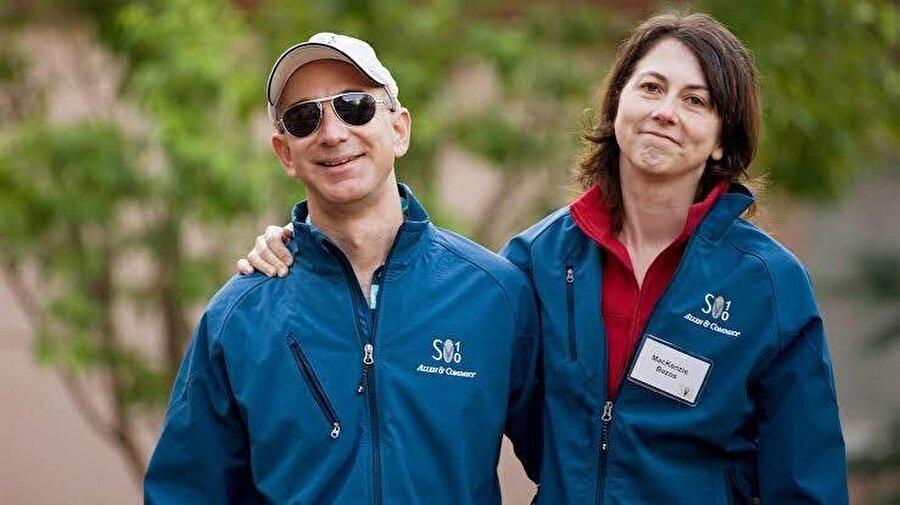 Jeff Bezos ve MacKenzie Bezos, 2018'deki Vanity Fair Oscar Partisi'nde son kez sahneye çıktı.