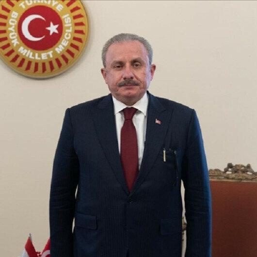 Turkey's parliament speaker meets Tajik counterpart in Ankara
