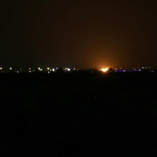 Syrian regime says it responded to Israeli attack