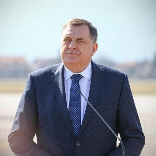 Several EU members back Bosnia's dissolution: Serb leader
