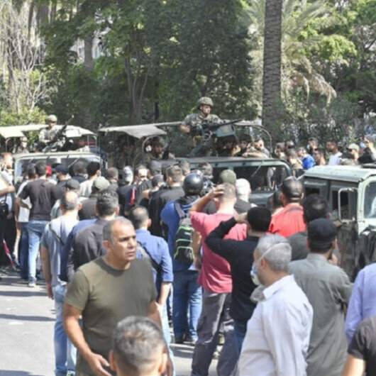Russia calls for 'restraint' as Lebanon plunges into chaos